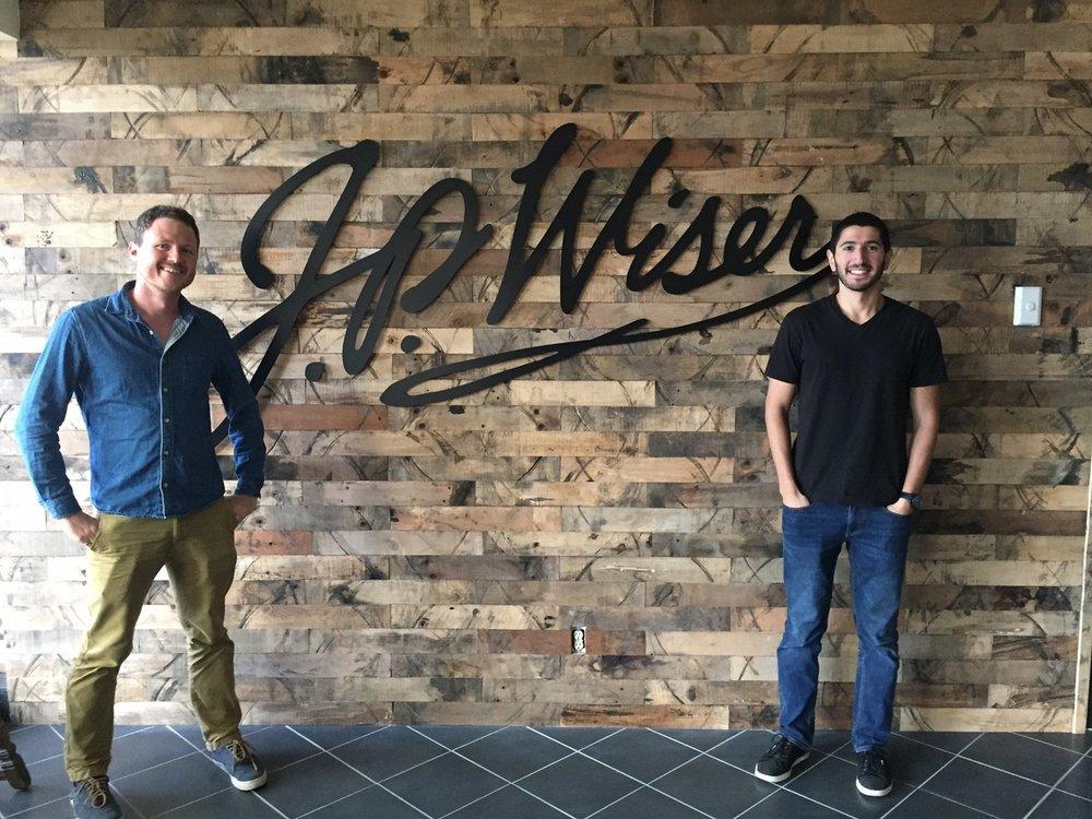 Inside the JP Wiser's Brand Centre.