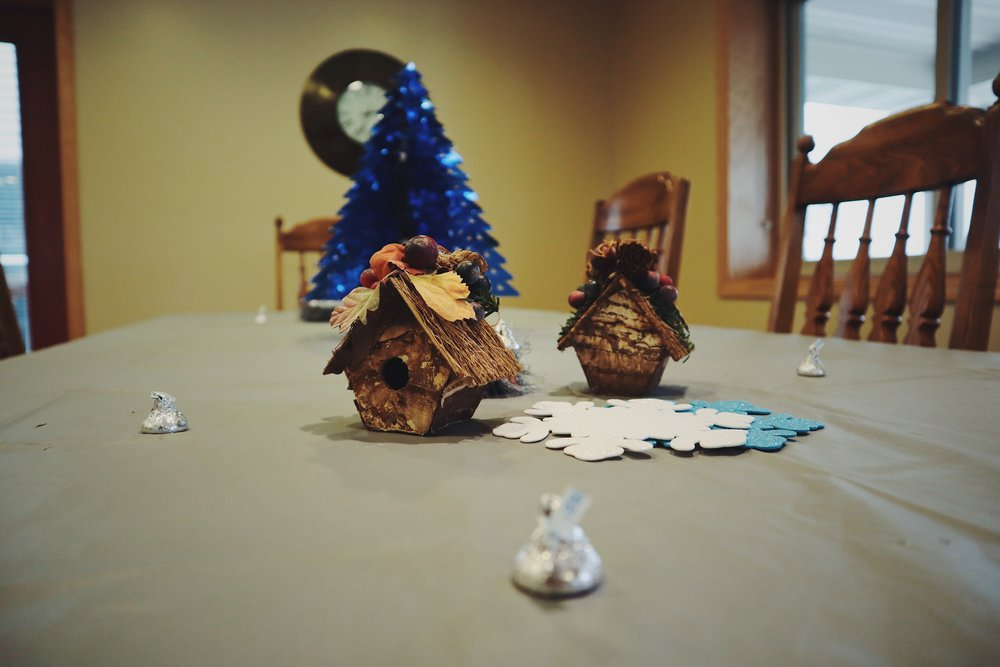 next-chapter-ministries-christmas-table-decorations-birdhouse.JPG