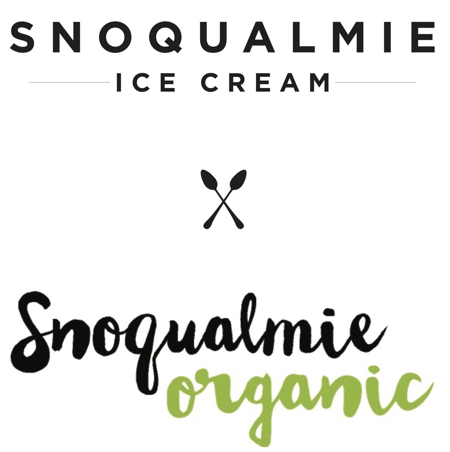 Snoqualmie Ice Cream + Snoqualmie Organic Ice Cream