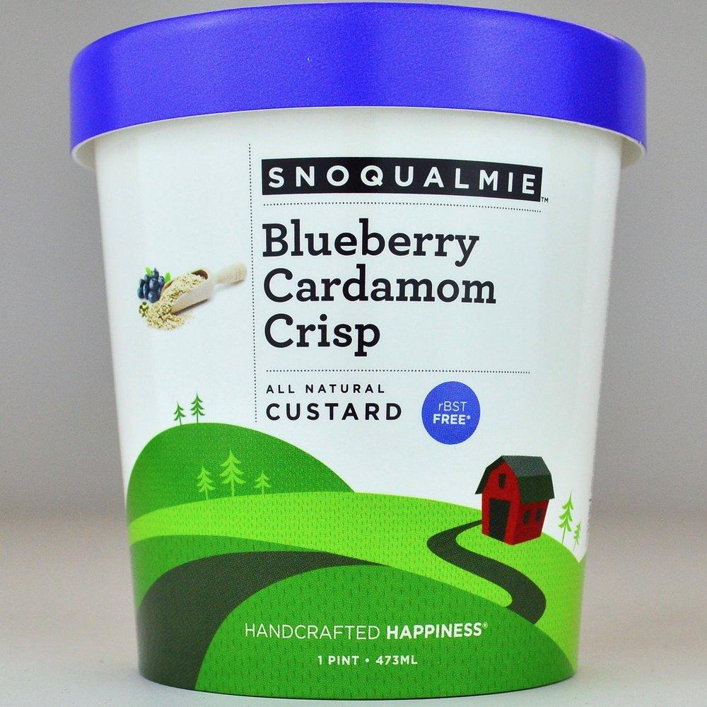 Blueberry Cardamom Crisp