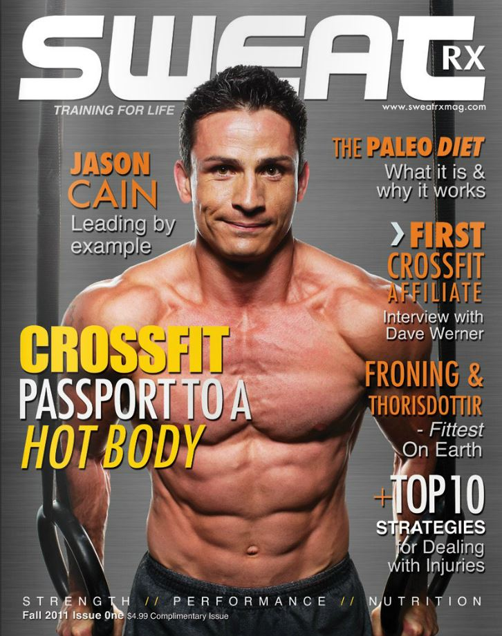 Sweat Magazine Cover