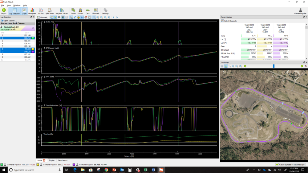 v110 - Bridging the real and virtual world's - iRacing Telemetry