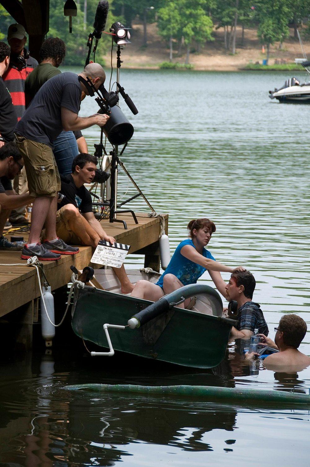 "Directing my short film, ""The Lake"""