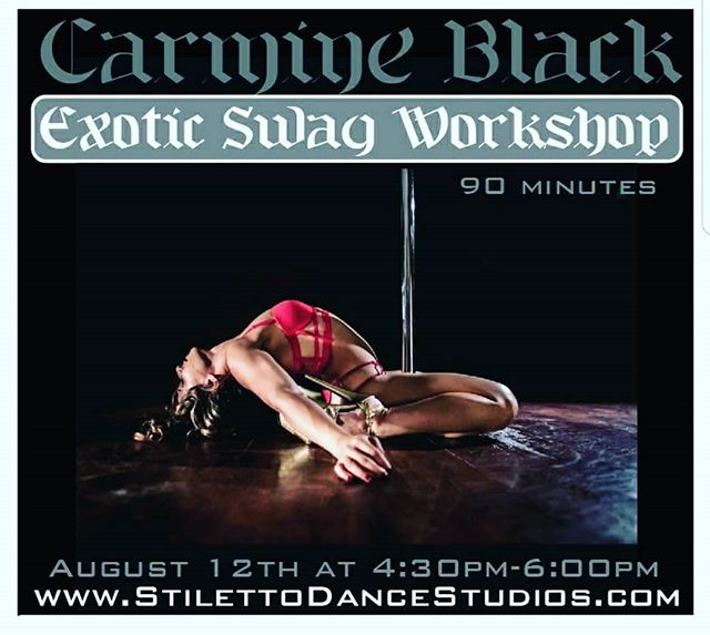 Summer Workshop Updates! Hey lovelies. Just wanted to drop a heads up for all of the intensives and workshops I will a part over the month of August.  August 12th, I will be in #Chicago teaching my #ExoticSwag workshop at @stilettodance 🖤 then I fly over to #CA from August 13-16th in the SF//Bay area. If anyone is interested in privates up in central or Northern CA DM me for info.  Aug 18th-19th I land in LA!!! From there I will be teaching my 6 hour Sensual Movement Intensive in OC at @Urbanaerialfitness 🖤 And the finally Aug 25th-26th I will be in Virginia at @aradiafitnessloudoun teaching my last movement intensive for the summer. If you will be in CA, Chicago or Virginia I hope to see you there! DM or email me for more details! #workshops #movement #exploration #dance #carmineblack #flow #freestyle #poledance #unitedbypole
