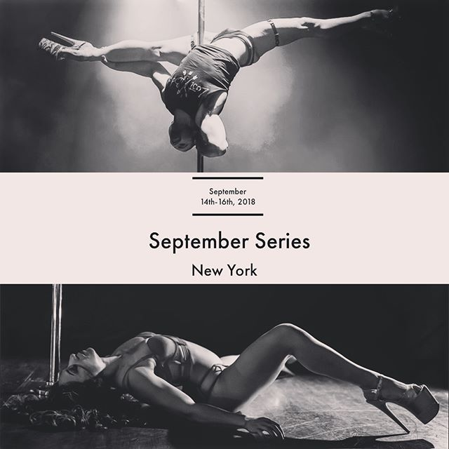 Hey friends! You have a couple more weeks to sign up for this series one in a lifetime opportunity hosted by @bluephoenixpoleandfitness and I. The weekend will consist of a series of workshops from Chris ranging from sexy aerial progressions, sensual choreo & floorwork. I will be doing my one and only heel intensive for the year at @incredipole! Workshops will include Heels 101, In-depth focus on gliding progressions & technique, and ways to smooth out your dance aesthetic. Sign ups can be found at www.carmineblack.com/septemberseries! or click on the link in my bio! I can't wait to dance with you all soon. #workshops #movement #poledance #bluephoenix #NY #incredipole #dance #poledance #fitness #workout