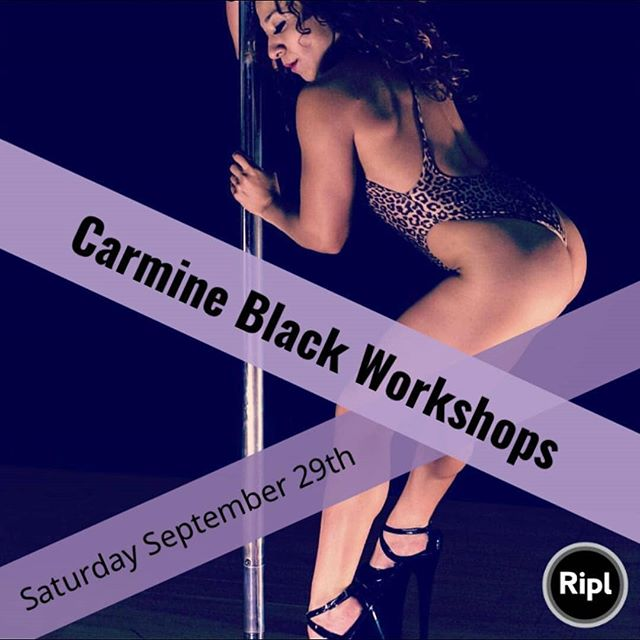 Hey lovelies! Workshop update Part 1: I will be visiting Asheville NC, and teaching workshops at @tribedancestudio September 29th. There are a few spots left! DM me or contact Tribe for more details! Grab them before they're all gone! #workshops #flow #poledance #play #fitness #dance #movement #carmineblack #asheville #NC #travel  #class #instruction #exoticflow #sensualflow