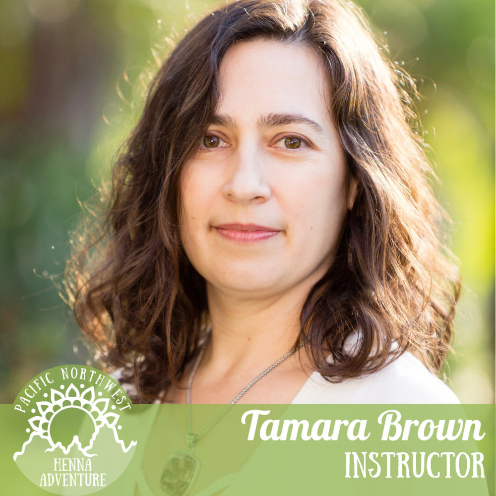 Tamara Brown - @opalmoonhennaTamara Brown of Opal Moon Henna has been a Henna Artist since 1998, and a Reiki Master since 2005. She practices Ceremonial Henna, a combination of body art, symbolism, energy work, channeled messages and guidance.