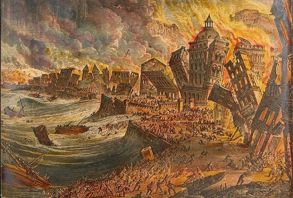 Lisbon Earthquake 1755