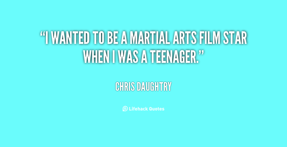 Chris Daughtry Martial Arts
