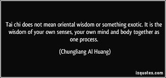 Tai Chi wisdom