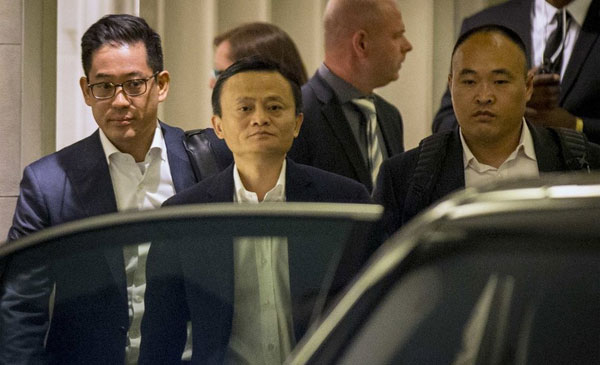 Jack Ma body Guard