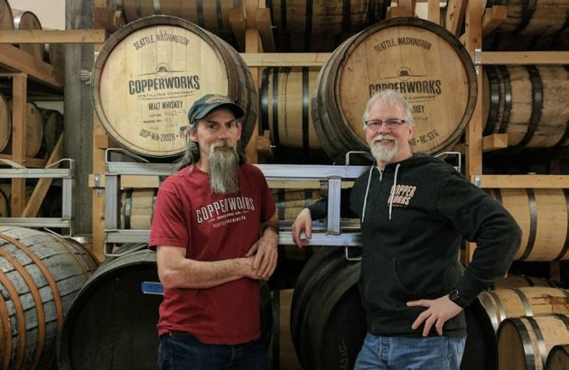 Micah Nutt, Co-founder & Distiller (left) and Jason Parker, Co-Founder & President (right)