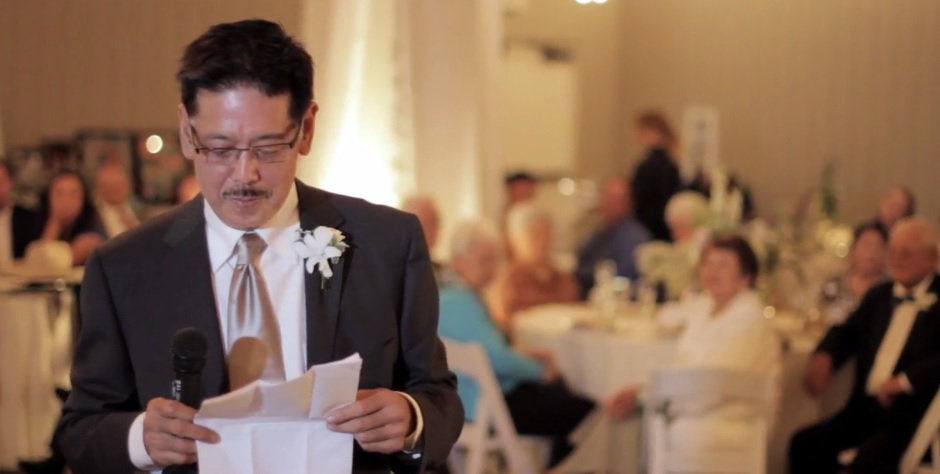 GLENN'S FATHER OF THE BRIDE SPEECH