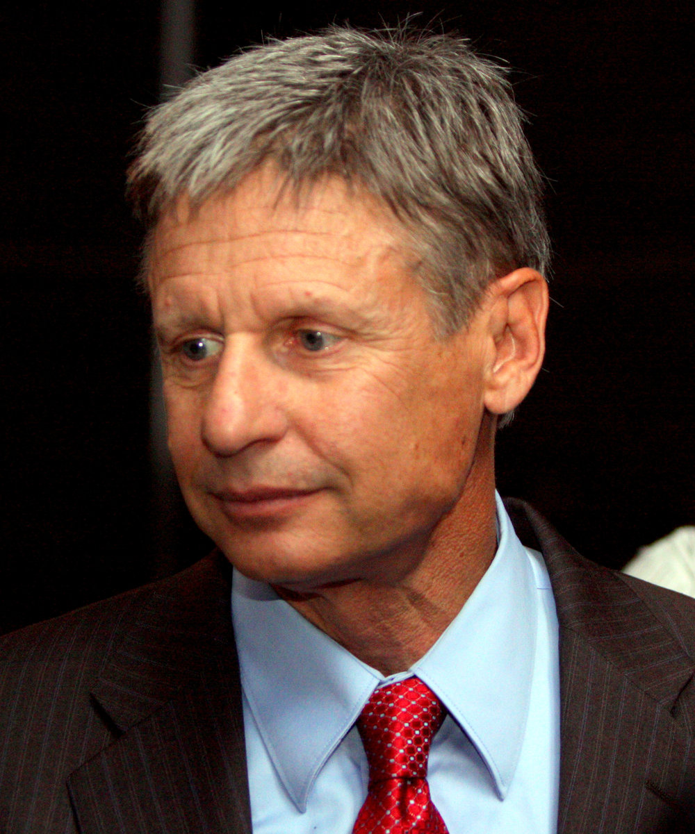 2016 Libertarian Party Nominee Gary Johnson. Image by Gage Skidmore.
