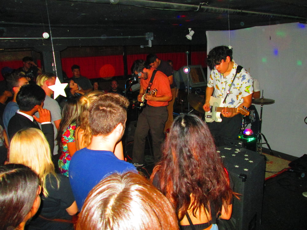 Kiki Diago plays at Back to the Grind Riverside Calif. Oct. 15 for their EP release. Photo by Charlie Vargas.