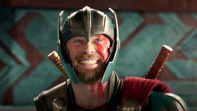 Chris Hemsworth as the titular character Thor. Image courtesy of Disney Video.