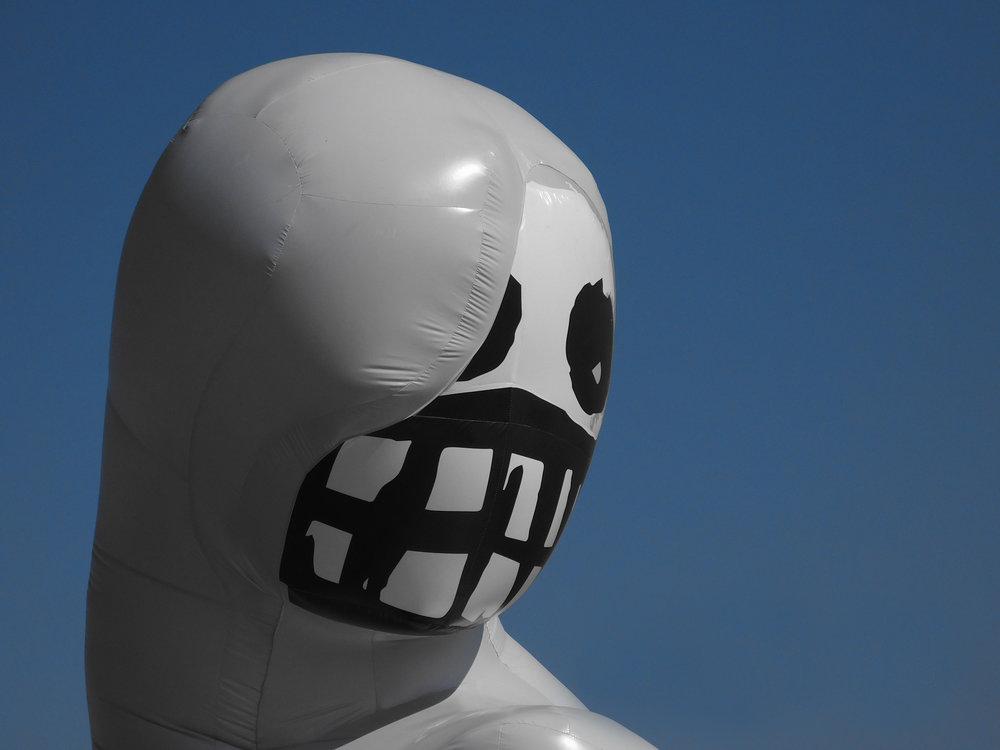 Beach Goth mascot