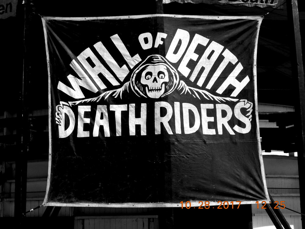 Wall of Death Riders banner