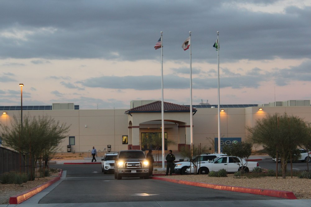 The Adelanto Detention Center, run by the GEO Group.