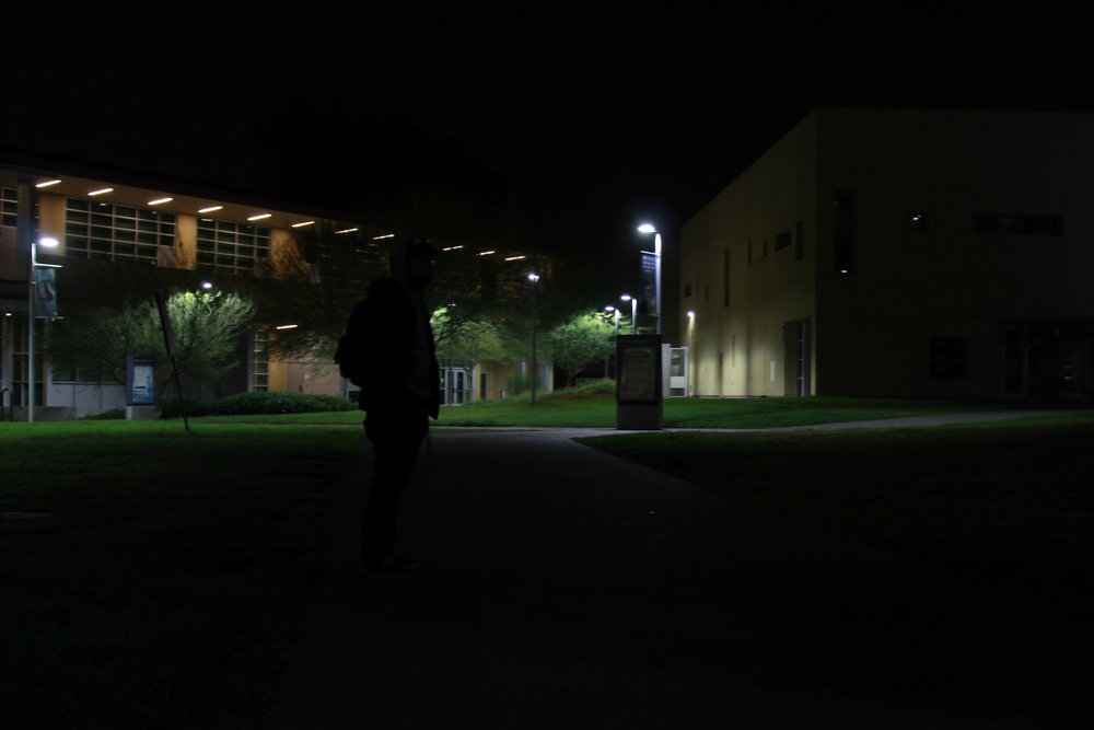 A massive pocket darkness sits in the middle of Valleys Campus.