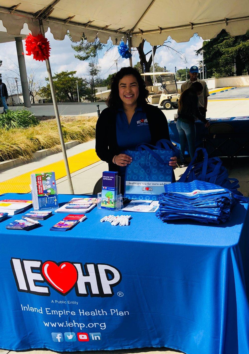 IEHP Representative Diana Alvarado