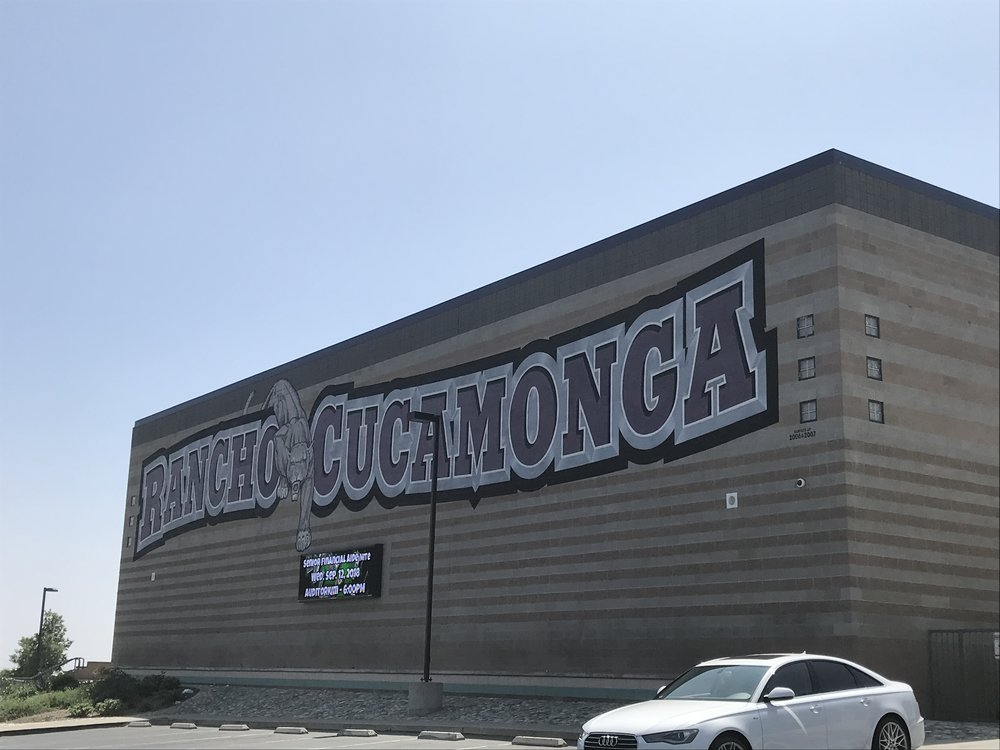 Rancho Cucamonga High School. Photo by Eric Montes