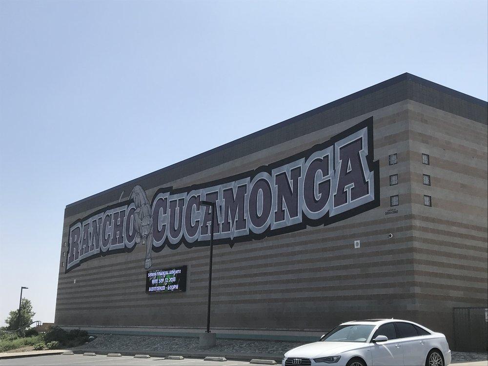 Rancho Cucamonga High School. Photo by Eric Montes