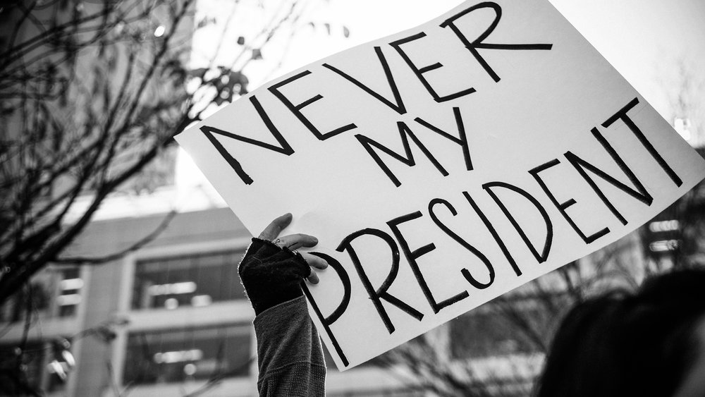 Not My President - Union Square Protest 2016