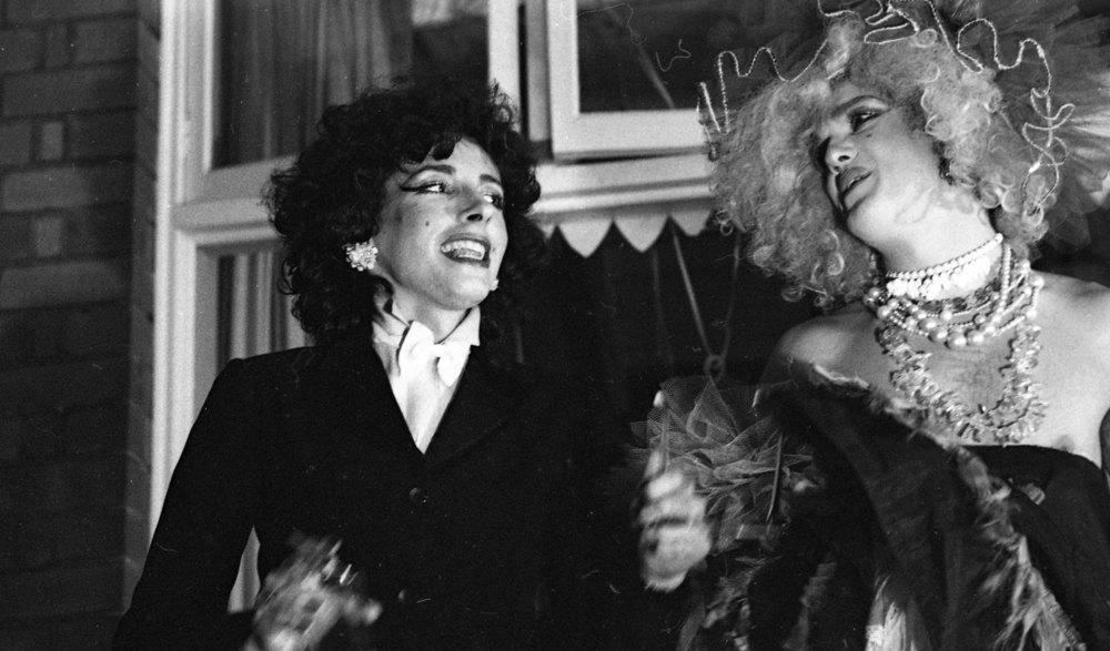 Doris and Jasper, members of Sylvia and the Synthetics