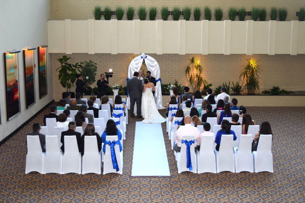 WE PROVIDE SOUND AND LIGHTING TO OUR CEREMONIES