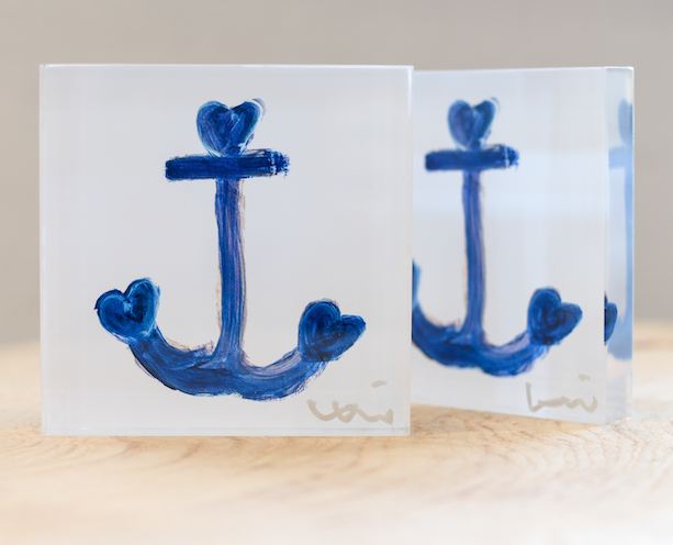 Anchor Blocks - Love anchors all. When you're tossed about and lost at sea and feel like there's no hope of getting back to shore, let love be your anchor. This holiday season present this to the people who are the anchors in your life. 4