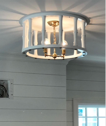 Ceiling Mount - You asked, we made. In a custom diameter.