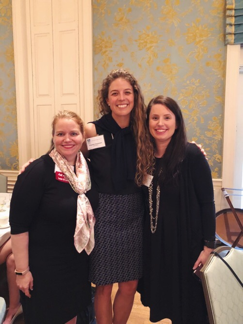 Katie, Founder and CEO, Pink Petro; Elizabeth, Founder, Sea Sisters; Ally, Founder, Women Offshore.