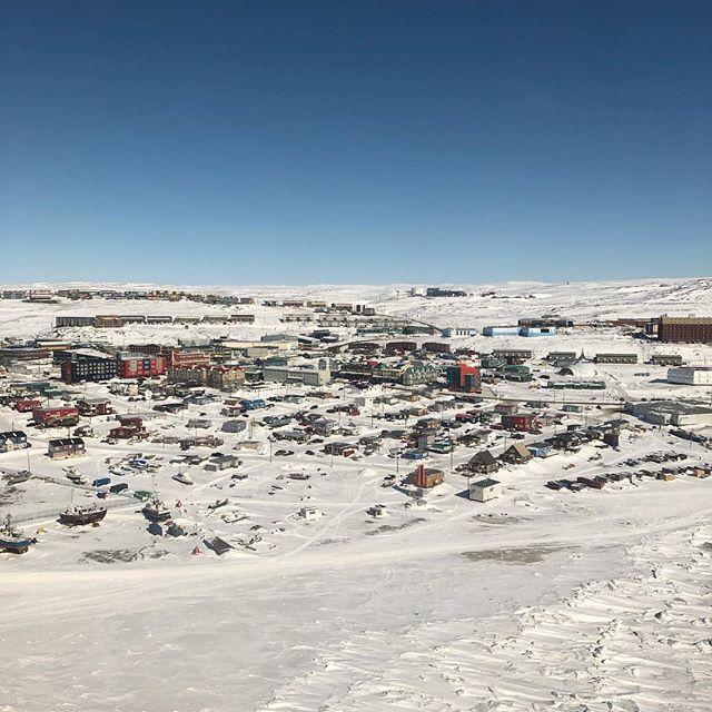 Frozen in Frobisher bay #iqaluit #arttechnician #workwork