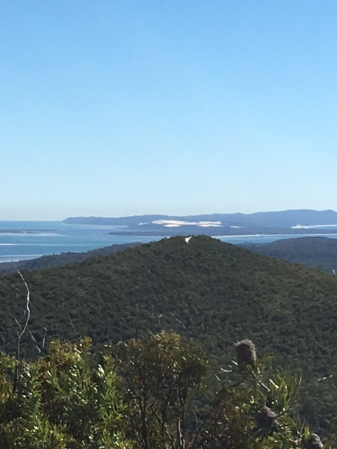 epic views to Moreton island