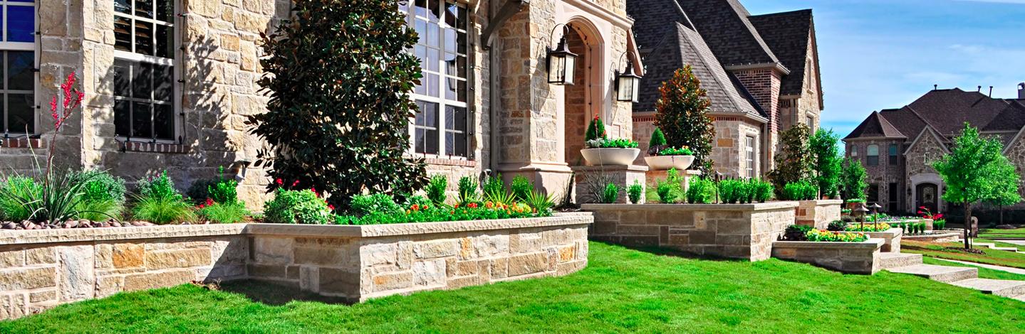 Custom landscape design & lawn care. Frisco, Texas - Bella Terra Custom Landscape Design & Lawn Services Frisco, Texas