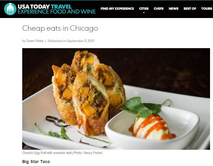 Where to eat cheaply in Chicago.