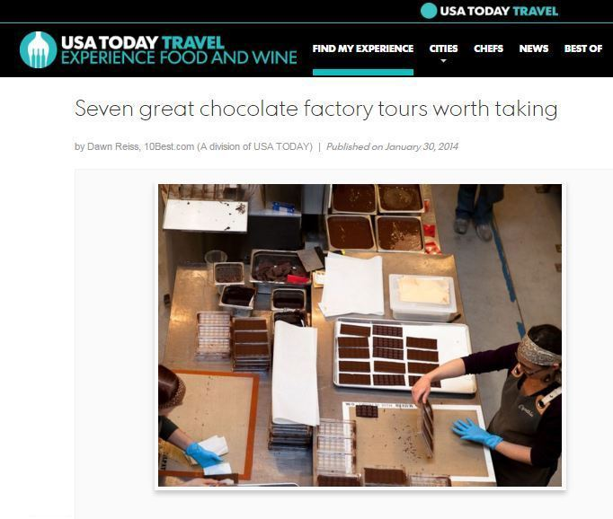 Where to find the best chocolate tours while traveling.