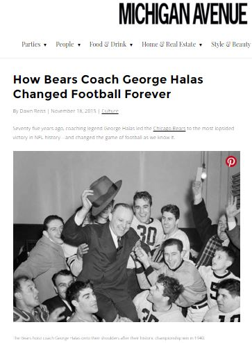 Seventy-five years ago, coaching legend George Halas led the Chicago Bears to the most lopsided victory in NFL history--and changed the game of football as we know it.
