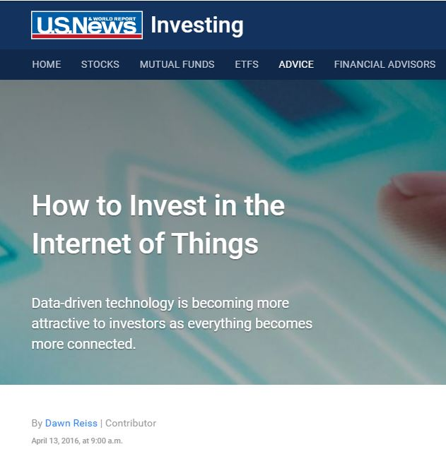 As the conversion of big data and analytics continues to grow, business are ramping up their involvement in the Internet of Things to hyper-personalize and customize every aspect of their companies. At the same time, the growth of this nebulous network that connects anything digital is attracting investors who are increasingly aware of growing opportunities.