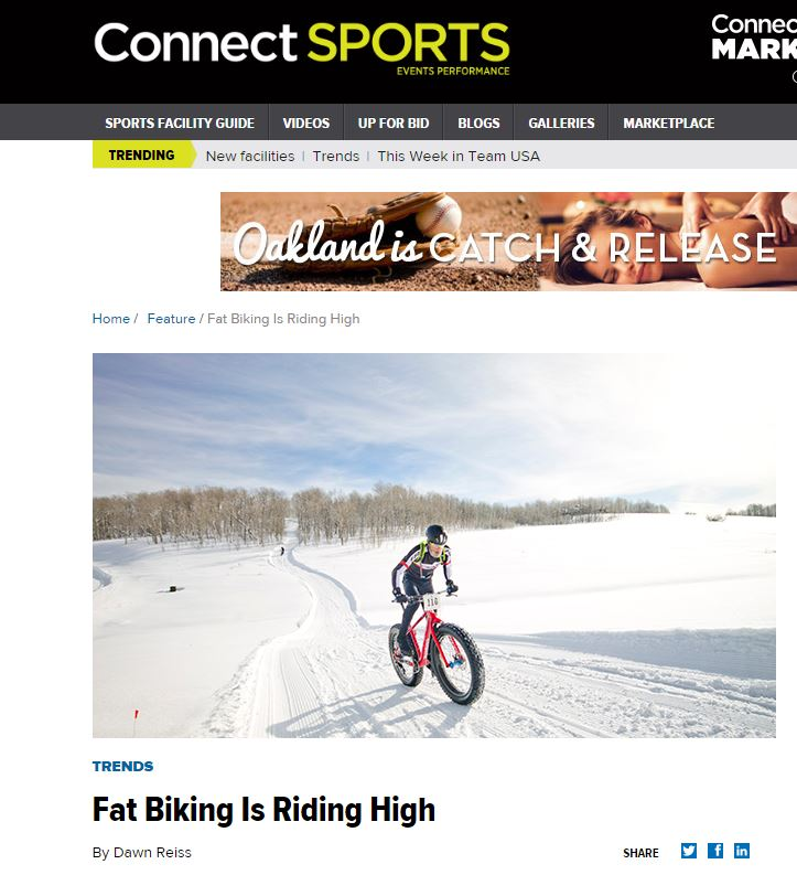 Fat isn't a word most athletes like to hear. But thanks to extra-wide tires that have revolutionized mountain bicycles into year-round vehicles, fat bikes are booming.