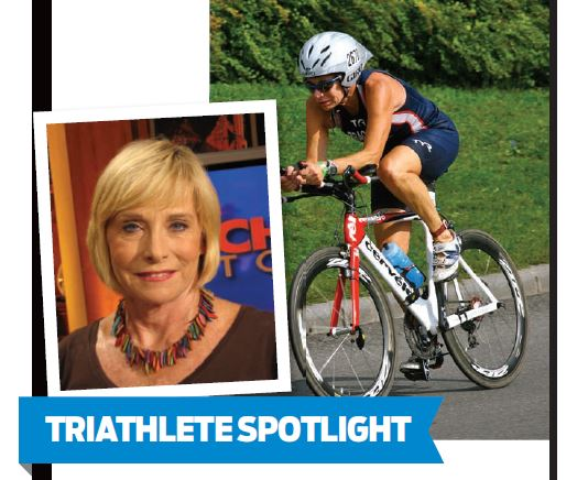 Veteran Chicago journalist Elizabeth Brackett decided she needed to get in shape at the age of 49 when she started training for her first triathlon.
