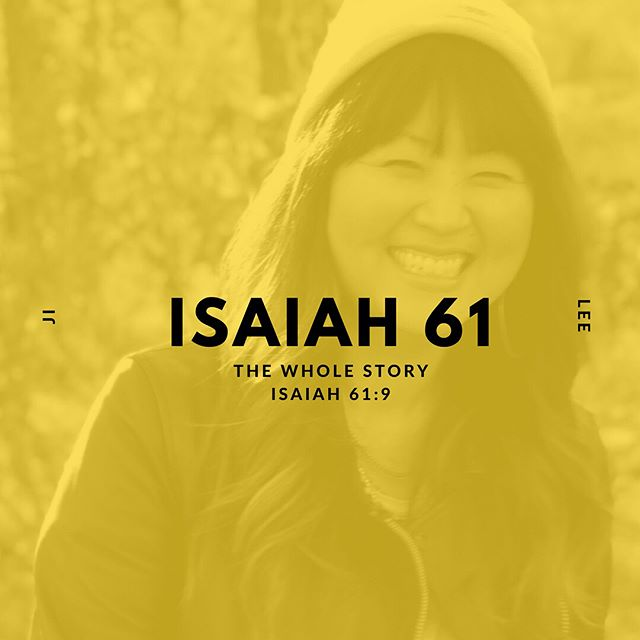 New on the blog! In this series, we are going to take a deep dive into Isaiah 61 and search it out verse by verse to see what God wants us to know about the hope He has been declaring over us for generations! Today, Ji Lee i is going to walk us through verse 9 of Isaiah 61! Check the link in our bio!