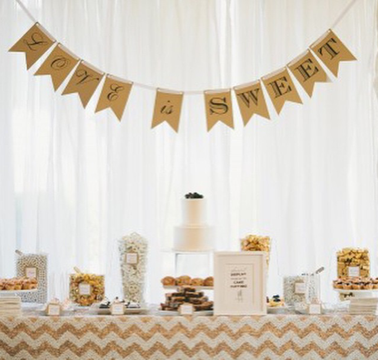 PHOTO OF A BRIDAL BLISS DESSERT BUFFET