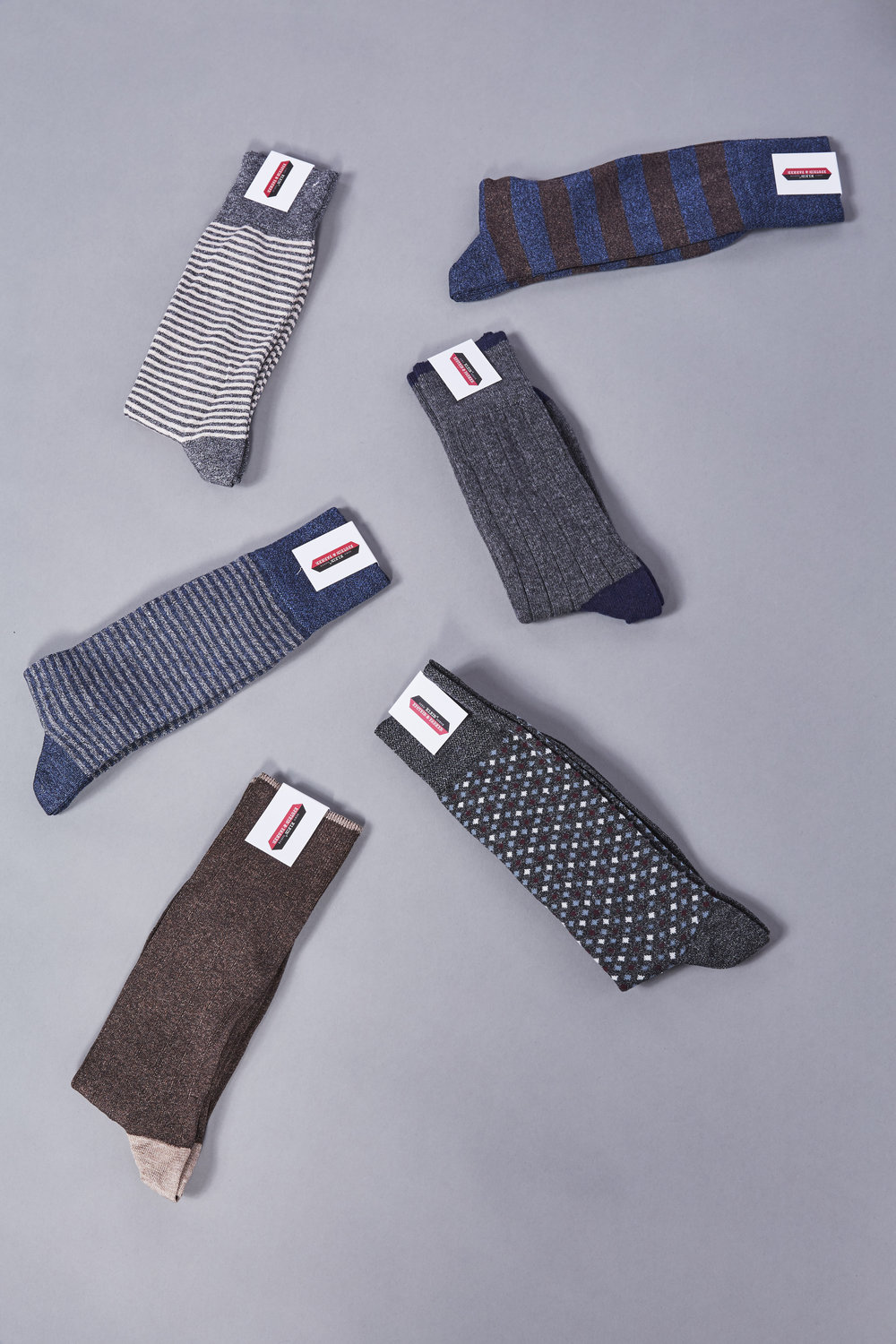 No matter the pattern or color, our socks will add style and fun to every outfit.