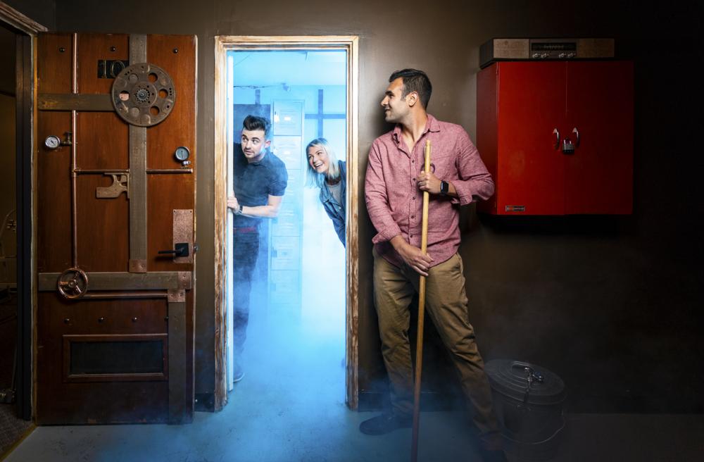 The Inventor's Enigma Escape Room, Escape Artist Greenville, SC
