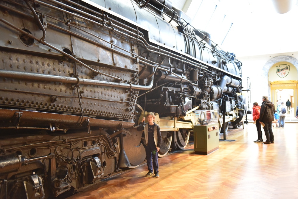 Lot's of cool trains, planes, farming equipment, industrial gear, etc.