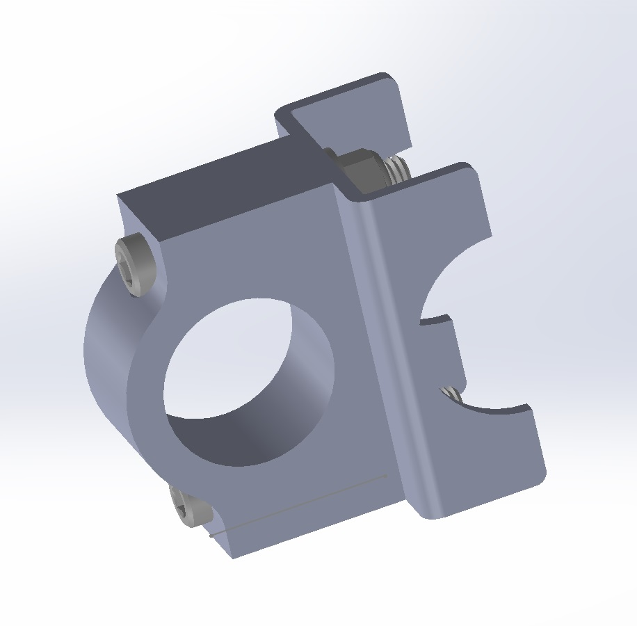 Rear sway bar bracket