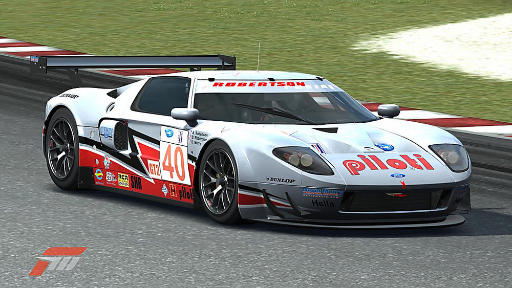 Robertson Racing's Ford GT-based car