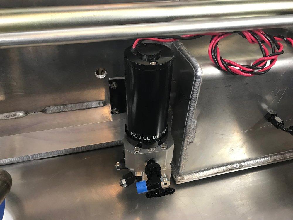 Pump installed